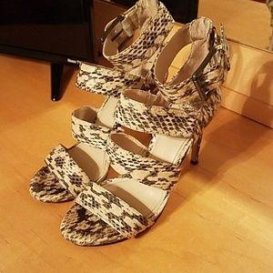 Vince Camuto Snakeskin Sandals
